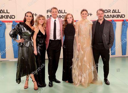 Jodi Balfour, Sarah Jones, Joel Kinnaman, Wrenn Schmidt, Shantel VanSanten, and Michael Dorman