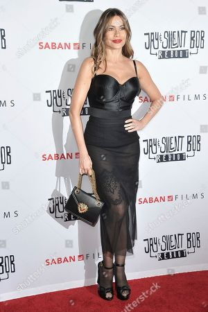 "Sofia Vergara attends a special Screening of ""Jay and Silent Bob Reboot"" at the TCL Chinese Theatre, in Los Angeles"
