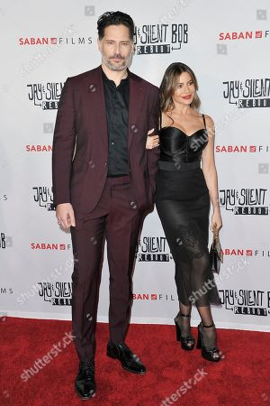 "Joe Manganiello, Sofia Vergara. Joe Manganiello, left, and Sofia Vergara attend a special Screening of ""Jay and Silent Bob Reboot"" at the TCL Chinese Theatre, in Los Angeles"