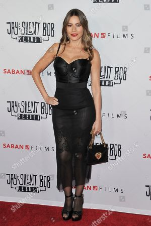 "Sofia Vergara attends a special Screening of ""Jay and Silent Bob Reboot,"" at the TCL Chinese Theatre, in Los Angeles"