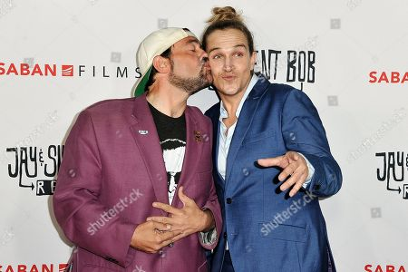"Kevin Smith, Jason Mewes. Kevin Smith, left, and Jason Mewes attend a special Screening of ""Jay and Silent Bob Reboot,"" at the TCL Chinese Theatre, in Los Angeles"