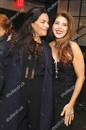 Sarita Choudhury and Marisa Tomei