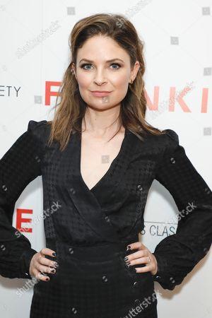 Editorial image of 'Frankie' film screening, Arrivals, Metrograph, New York, USA - 14 Oct 2019