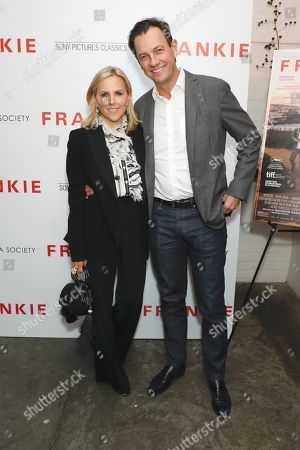 Tory Burch and Pierre-Yves Roussel
