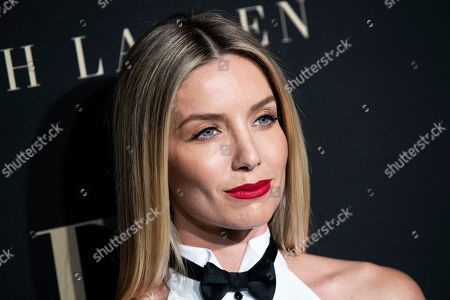 Annabelle Wallis poses on the red carpet during the 26th Annual ELLE Women in Hollywood Celebration, Beverly Hills, California, USA, 14 October 2019.