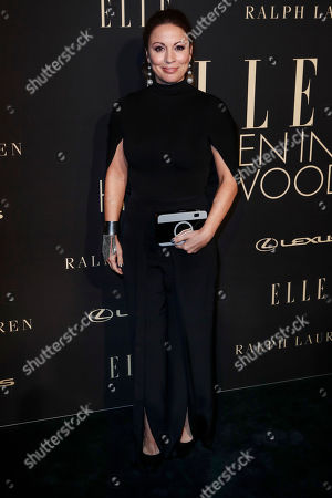 Stock Photo of Kay Cannon poses on the red carpet during the 26th Annual ELLE Women in Hollywood Celebration, Beverly Hills, California, USA, 14 October 2019.