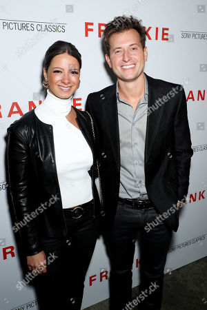 Stock Image of Peter Cincotti and guest