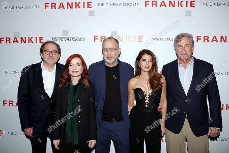 Michael Barker, Isabelle Huppert, Ira Sachs (Director), Marisa Tomei and Tom Bernard