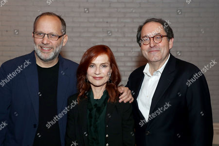 Ira Sachs (Director), Isabelle Huppert, Micahel Barker (Co-Pres. SPC)