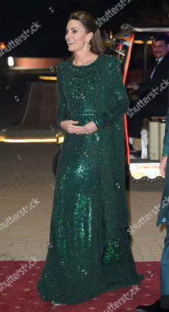 Stock Photo of Catherine Duchess of Cambridge during a reception hosted by the British High Commissioner to Pakistan in Islamabad