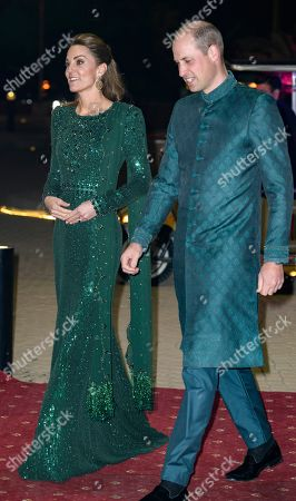 Editorial picture of Prince William and Catherine Duchess of Cambridge visit to Pakistan - 15 Oct 2019