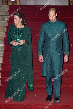 Editorial image of Prince William and Catherine Duchess of Cambridge visit to Pakistan - 15 Oct 2019