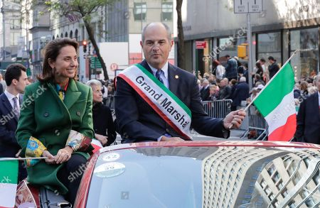 Editorial picture of Columbus Day parade, New York, USA - 14 Oct 2019