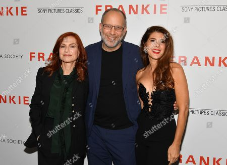 Editorial image of 'Frankie' film screening, Arrivals, Metrograph, New York, USA - 14 Oct 2019