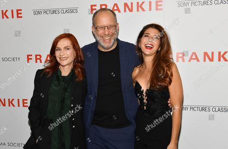 Editorial photo of 'Frankie' film screening, Arrivals, Metrograph, New York, USA - 14 Oct 2019