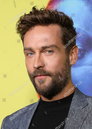 """Stock Picture of Tom Mison attends the """"Watchmen"""" premiere at the Cinerama Dome on in Los Angeles"""