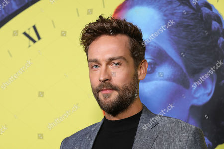 """Stock Photo of Tom Mison attends the """"Watchmen"""" premiere at the Cinerama Dome on in Los Angeles"""
