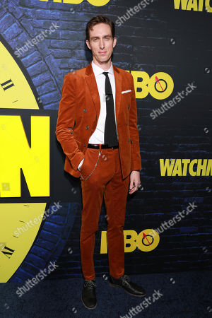 """Stock Image of Dustin Ingram attends the """"Watchmen"""" premiere at the Cinerama Dome on in Los Angeles"""