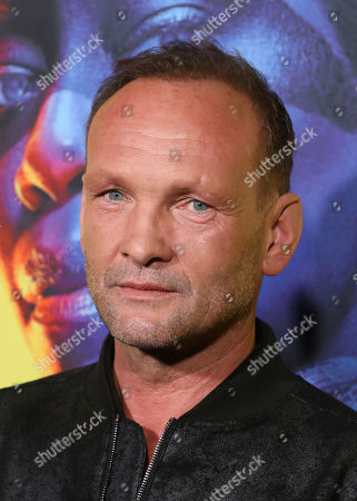 "Andrew Howard attends the ""Watchmen"" premiere at the Cinerama Dome on in Los Angeles"
