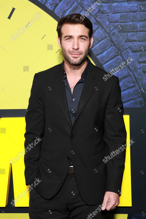 """James Wolk attends the """"Watchmen"""" premiere at the Cinerama Dome on in Los Angeles"""