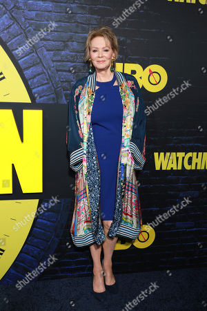 "Stock Image of Jean Smart attends the ""Watchmen"" premiere at the Cinerama Dome on in Los Angeles"