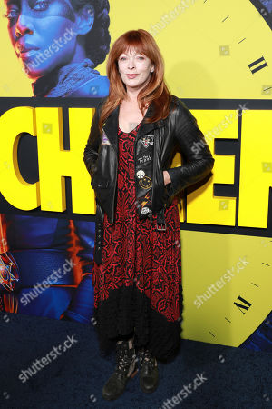"Frances Fisher attends the ""Watchmen"" premiere at the Cinerama Dome on in Los Angeles"