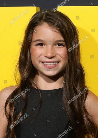 """Lily Rose Smith attends the """"Watchmen"""" premiere at the Cinerama Dome on in Los Angeles"""