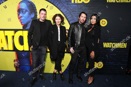 "Editorial image of LA Premiere of ""Watchmen"", Los Angeles, USA - 14 Oct 2019"