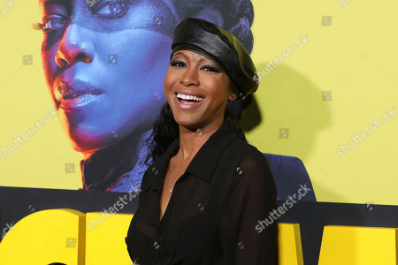 "Gabrielle Dennis attends the ""Watchmen"" premiere at the Cinerama Dome on in Los Angeles"
