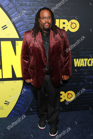 "Jacob Ming-Trent attends the ""Watchmen"" premiere at the Cinerama Dome on in Los Angeles"