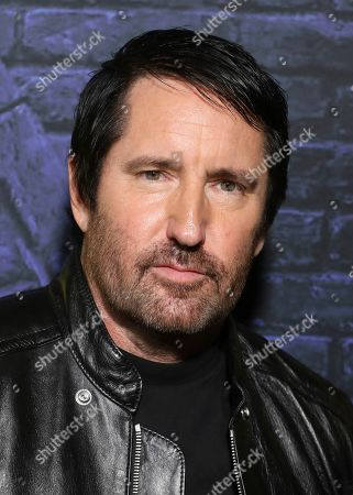 """Stock Picture of Trent Reznor attends the """"Watchmen"""" premiere at the Cinerama Dome on in Los Angeles"""