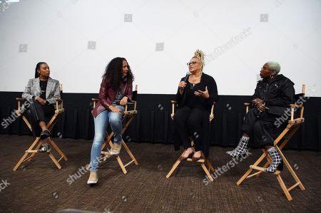 Jasmine Simpkins, Gina Prince-Bythewood, Director/Writer Kasi Lemmons and Cynthia Erivo