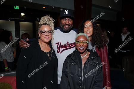 Director/Writer Kasi Lemmons, Malcolm D Lee, Cynthia Erivo and Gina Prince-Bythewood