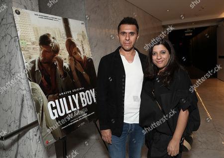 Producer Ritesh Sidhwani and Director Zoya Akhtar