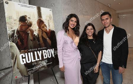 Priyanka Chopra Jonas, Director Zoya Akhtar and Producer Ritesh Sidhwani
