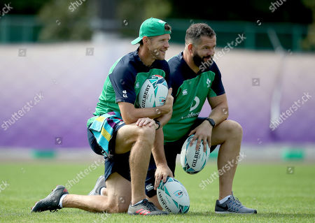 Editorial image of Ireland Rugby Squad Training, Arcs Urayasu Park, Aichi, Japan  - 15 Oct 2019