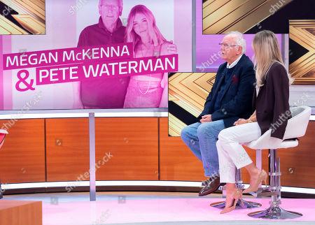 Pete Waterman and Megan McKenna