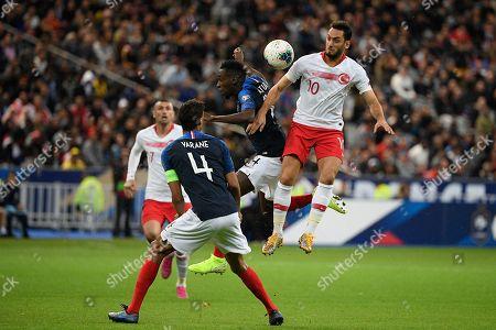 Editorial photo of France v Turkey, UEFA Euro 2020 group C qualifier, Paris, France - 14 Oct 2019
