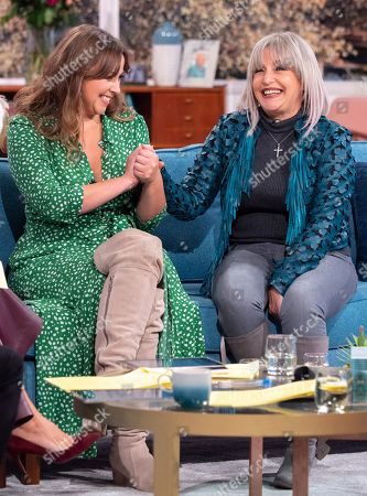 Editorial image of 'This Morning' TV show, London, UK - 15 Oct 2019