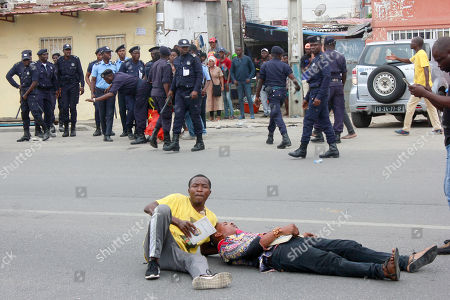 Editorial photo of Angola: Protests against unemployment, Luanda, Angola - 15 Oct 2019