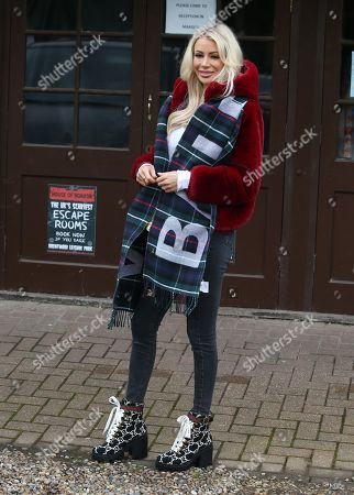 Editorial image of 'The Only Way is Essex' TV show filming, London, UK - 15 Oct 2019