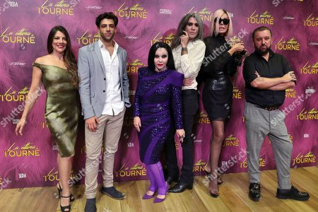 Editorial photo of La Ultima Tourne in theaters in Madrid, Spain - 15 Oct 2019
