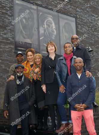 Editorial picture of 'Underexposed Arts' Peckham Portraits, London, UK - 15 Oct 2019