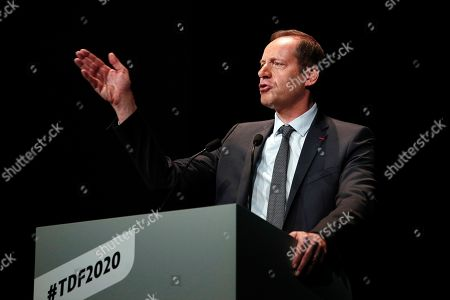 Editorial picture of Tour de France 2020 presentation in Paris - 15 Oct 2019
