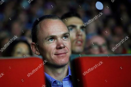 British rider Christopher Froome attends the presentation of the Tour de France 2020 cycling race in Paris, France, 15 October 2019. The 107th edition of the Tour de France will start from Nice on 27 June 2020 and will arrive in Paris on 19 July 2020.