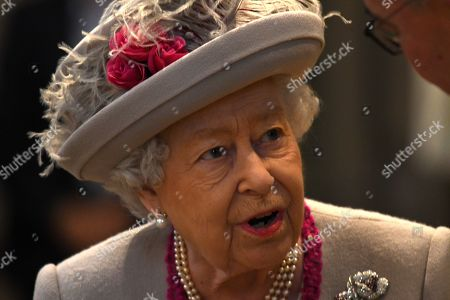 Queen Elizabeth II attends a service to mark 750th anniversary of Westminster Abbey in London