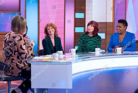 Ruth Langsford, Bonnie Langford, Janet Street-Porter and Brenda Edwards
