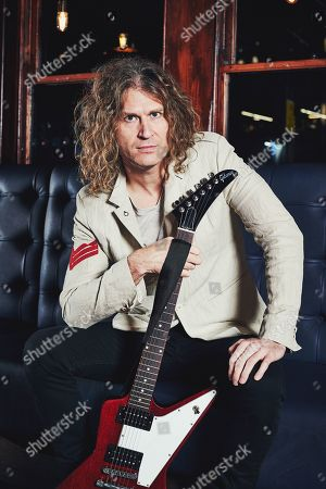Editorial picture of Dave Keuning Portrait & Rig Shoot, London - 10 Dec 2018