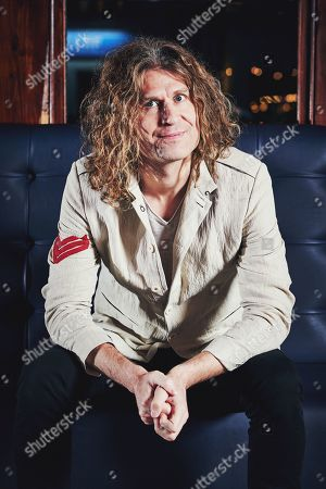 Stock Photo of London United Kingdom - December 10: Portrait Of American Musician Dave Keuning Photographed Before A Live Performance At Dingwalls In London On December 10 2018. Keuning Is Best Known As A Guitarist And Founding Member Of Alternative Rock Group The Killers