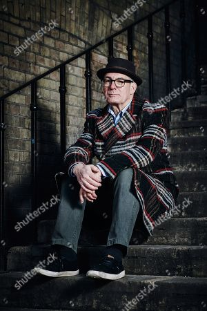 London United Kingdom - January 31: Portrait Of English Journalist Novelist And Screenwriter David Quantick Photographed In London To Promote His Book All My Colors On January 31